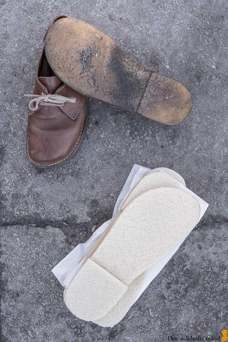sko ny sål rågummi