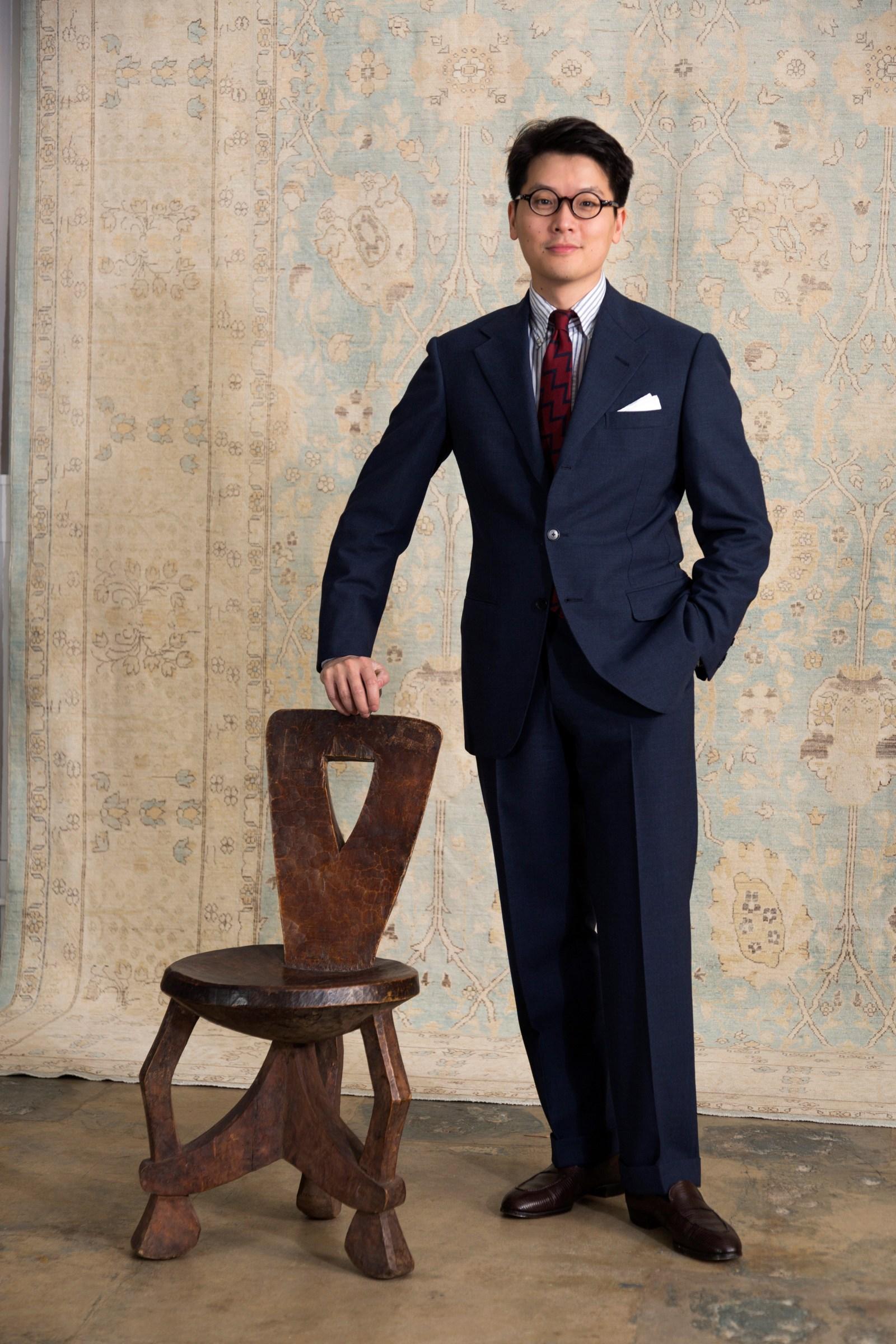 oversized suit