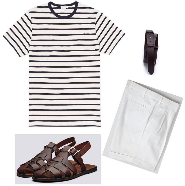 sommertøj look til mænd