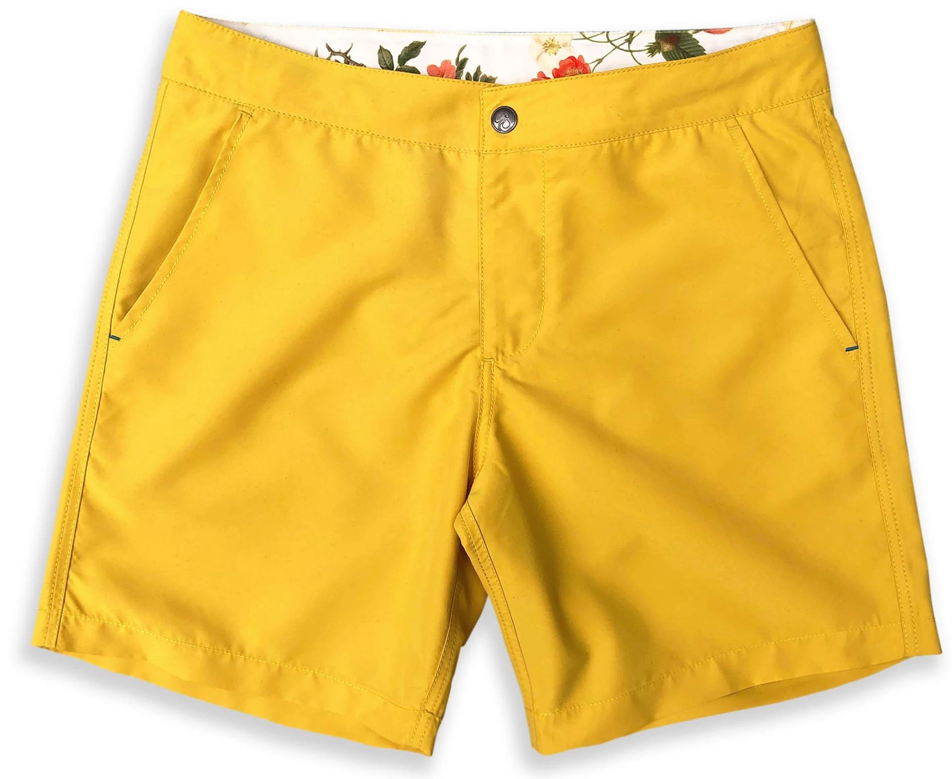 badeshorts gule mænd