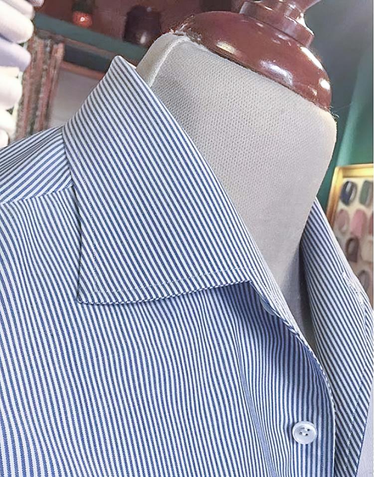 one-piece skjortekrave