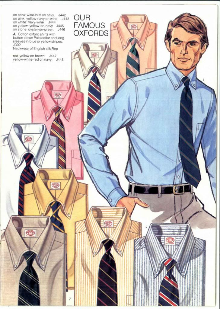 skjorter fra brooks brothers katalog