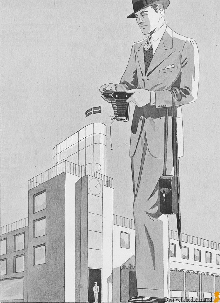 illum herremode 1935 jakkesæt