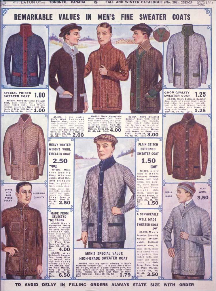 strikket jakke