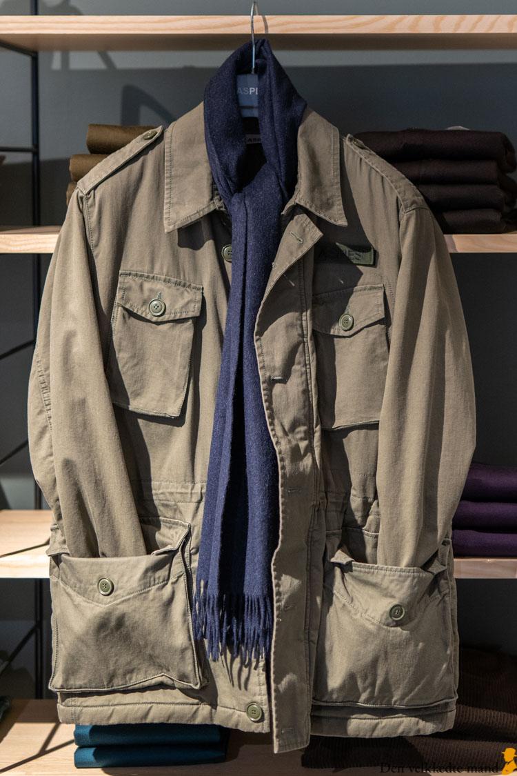 grøn jakke til mænd