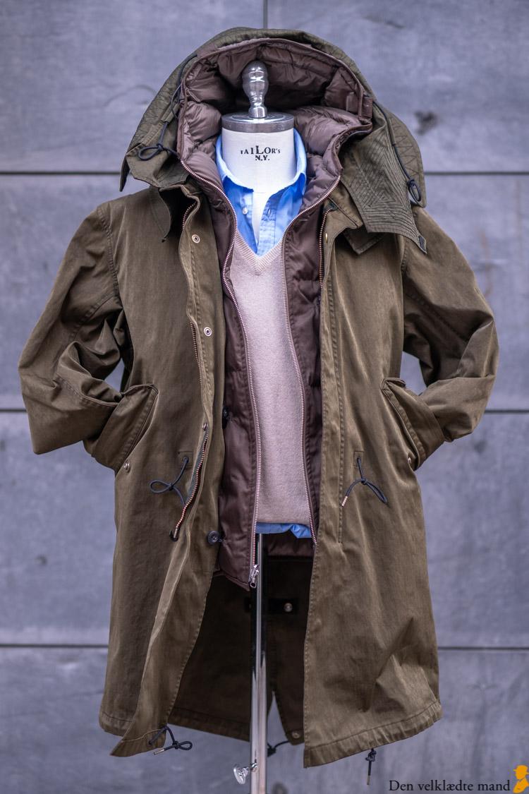 parka efterårets tøj garodkin