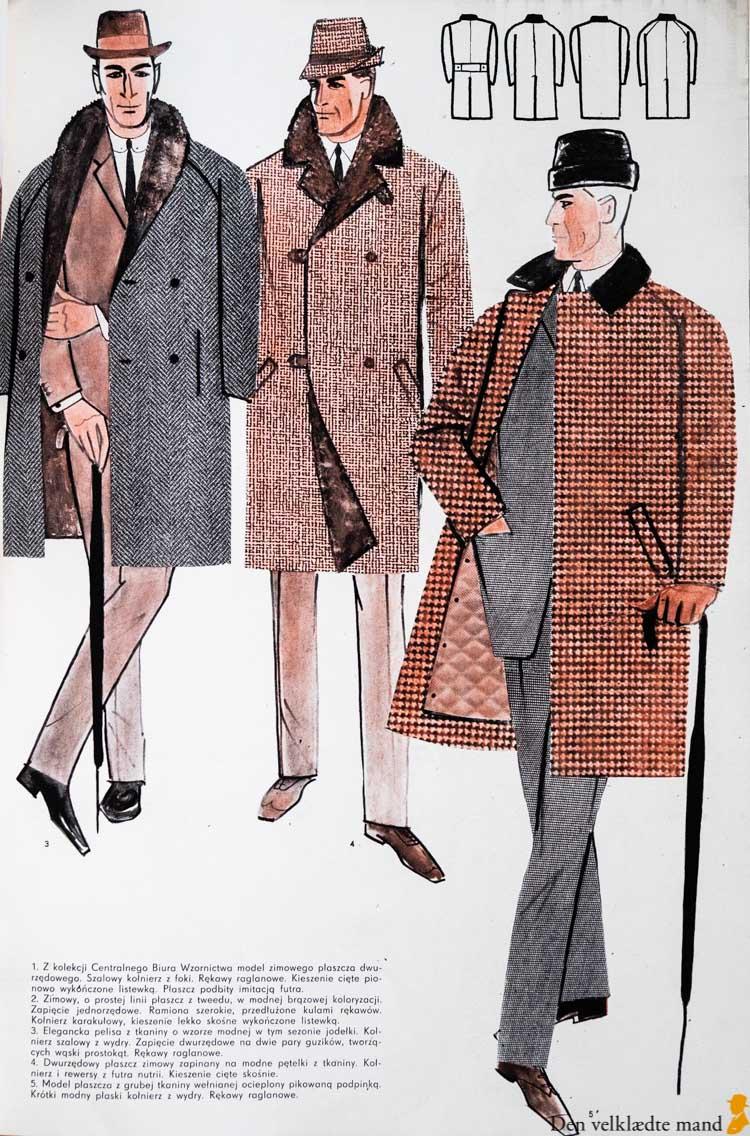 elegante mænd 1965 herremodemagasiner