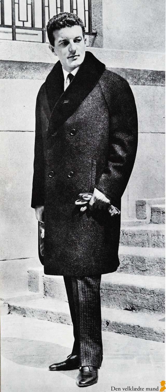 frakke med pelskrave til mænd herremodemagasiner