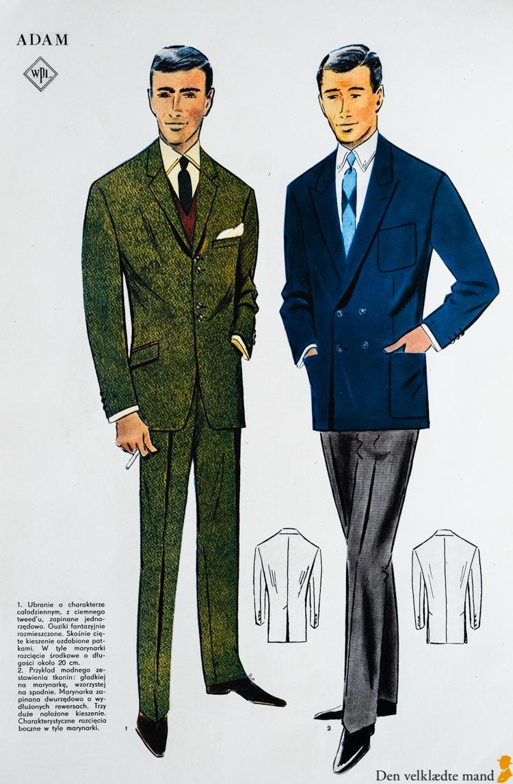 jakkesæt til mænd 1965