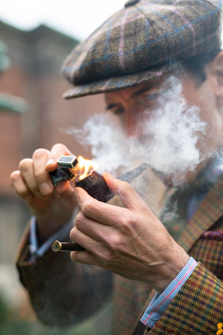 pibe rygning ved iversen