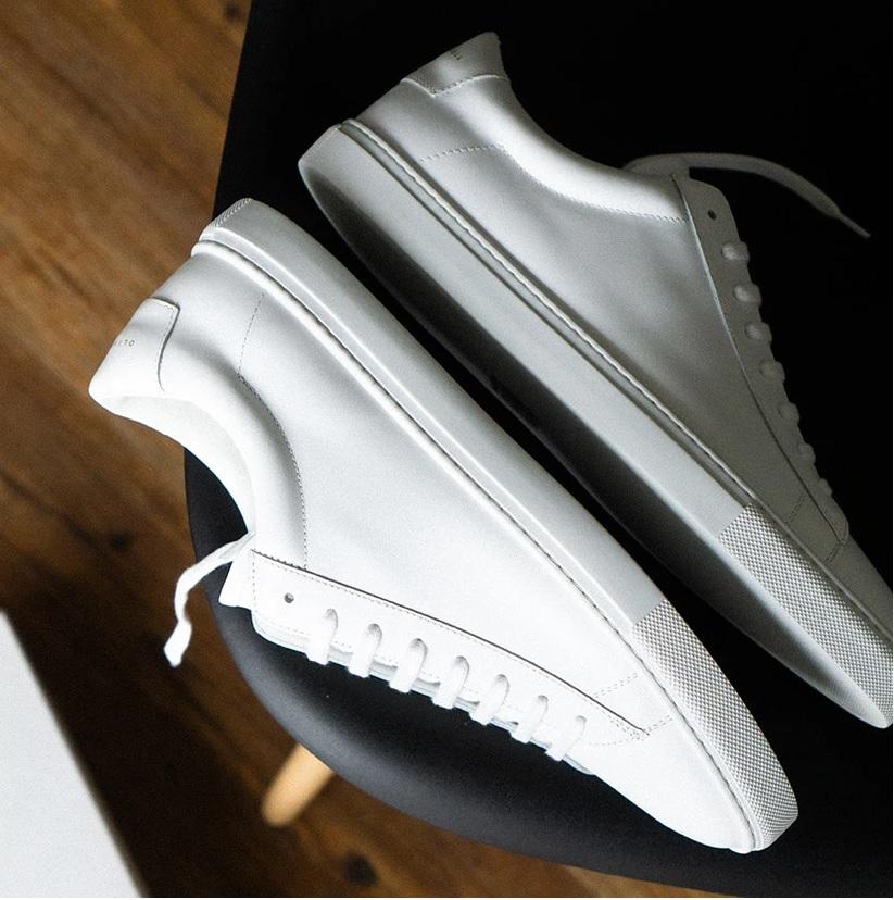 oliver cambell hvide sneakers til mænd