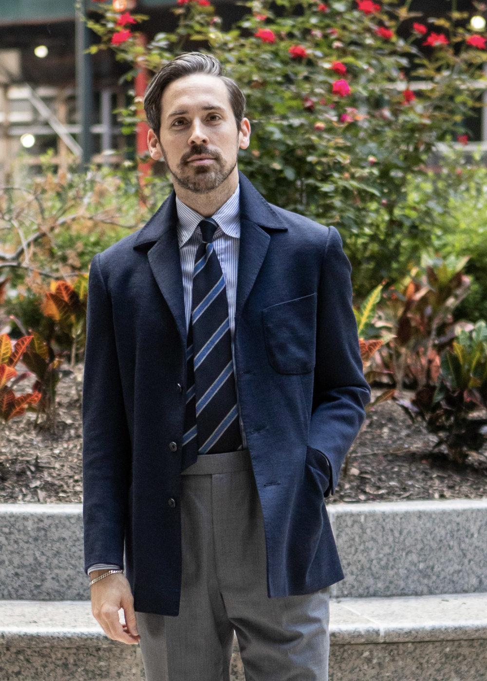 slack jacket afslappet jakke til mænd