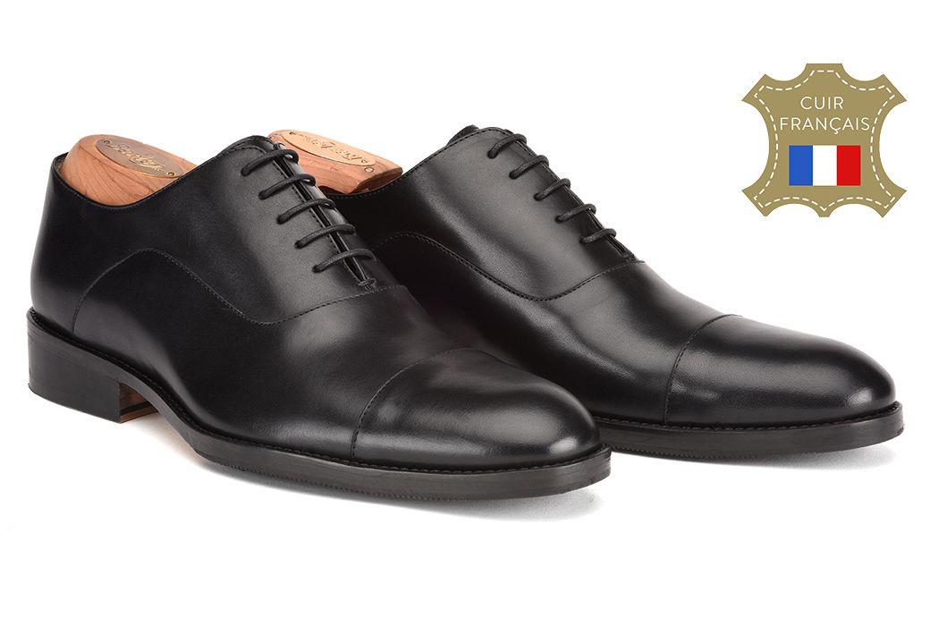 pæne sko sorte til mænd