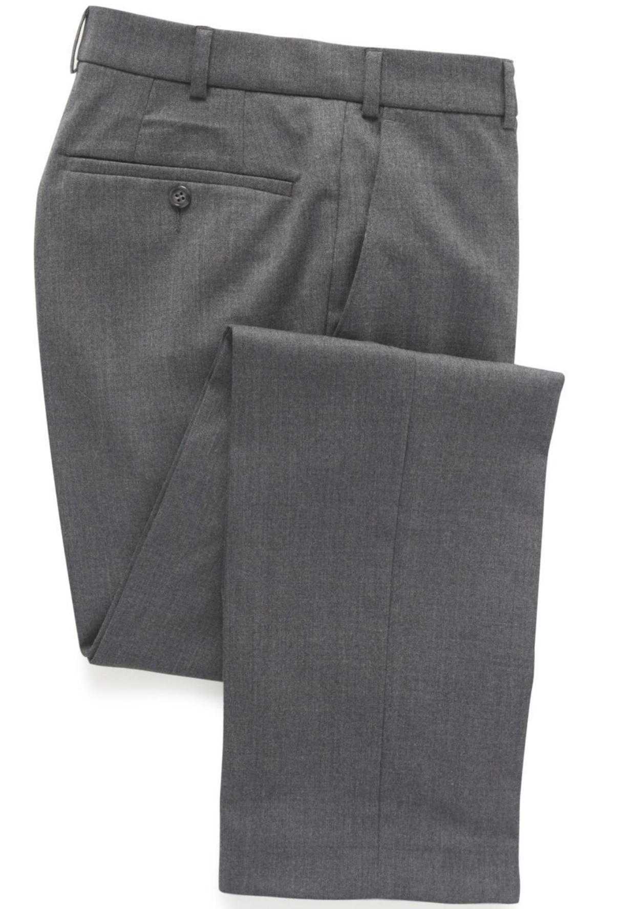 velklædt grå bukser pæn i tøjet