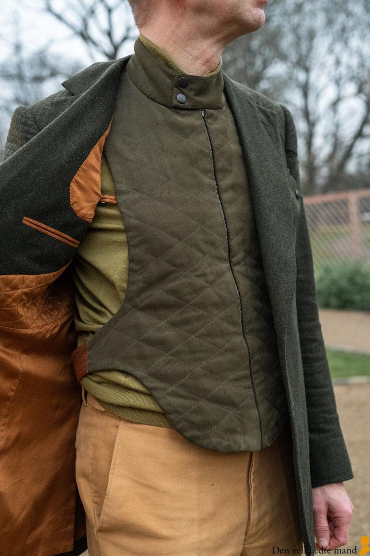 skræddersyet driving jacket