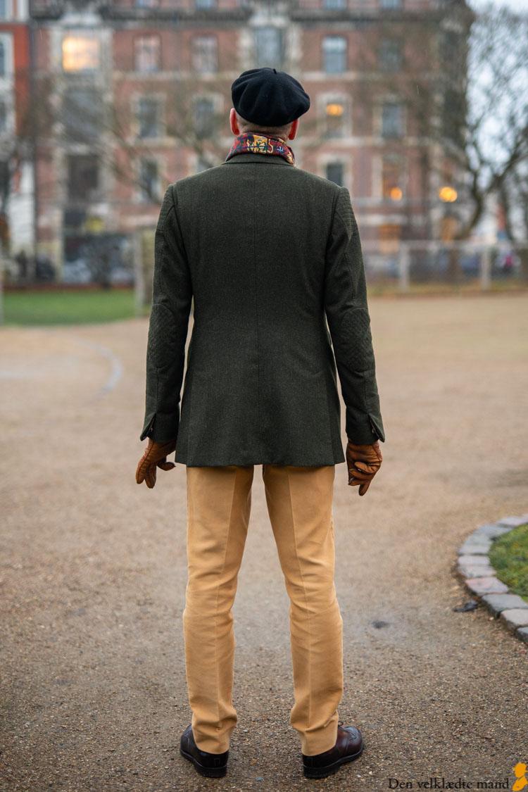 skræddersyet driving jacket jakke til mænd
