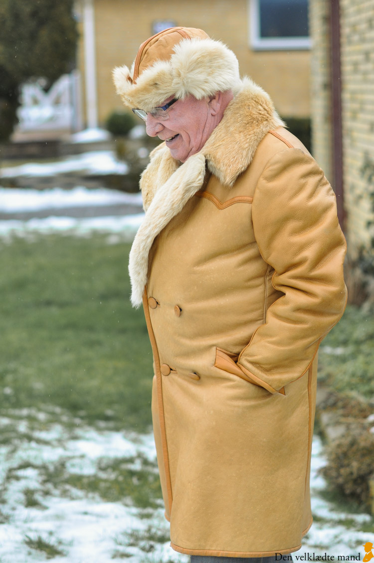 rulamsfrakke skræddersyet mand