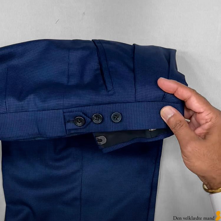 bukser daks lukning