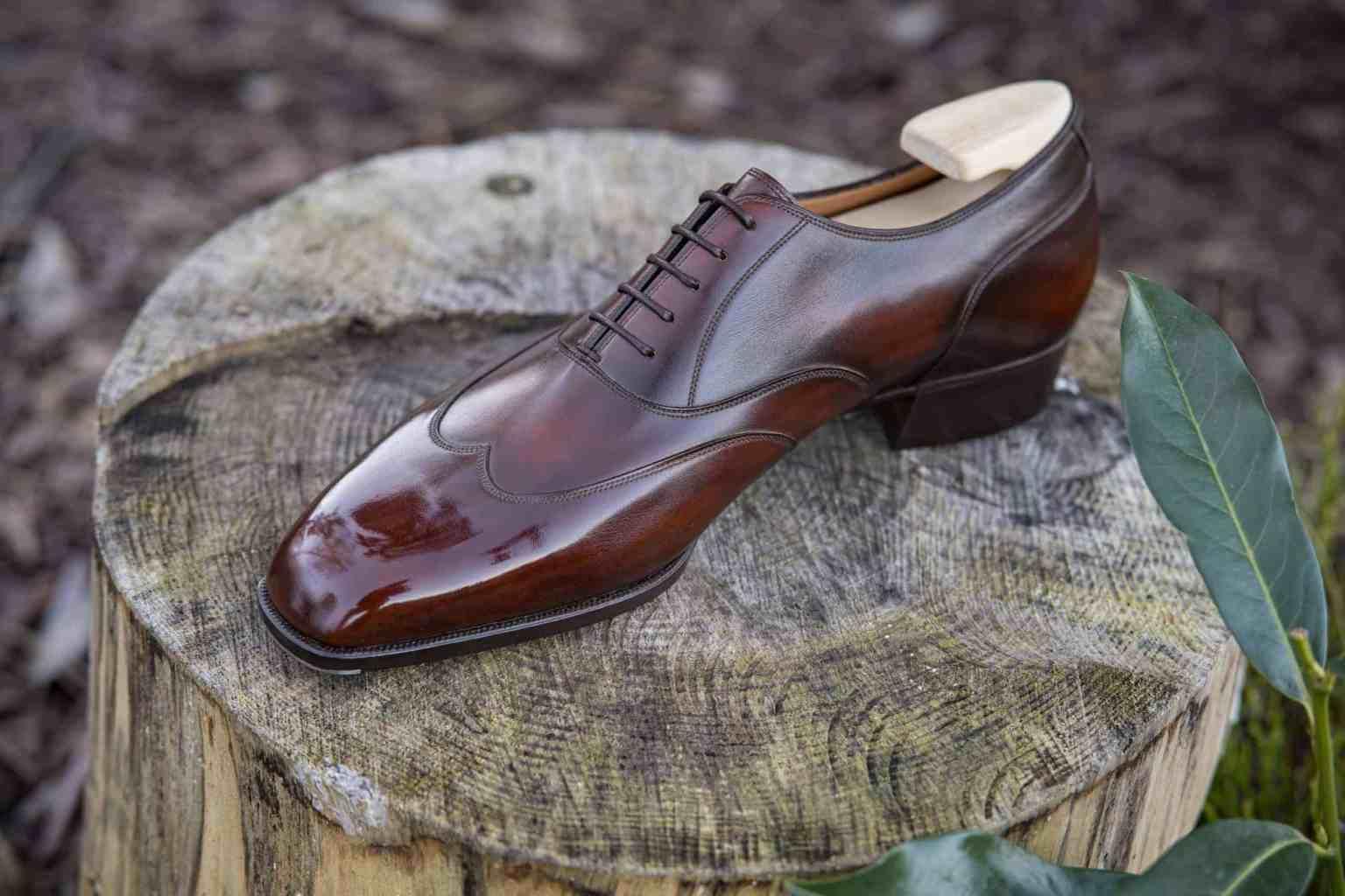 herresko håndsyede sko