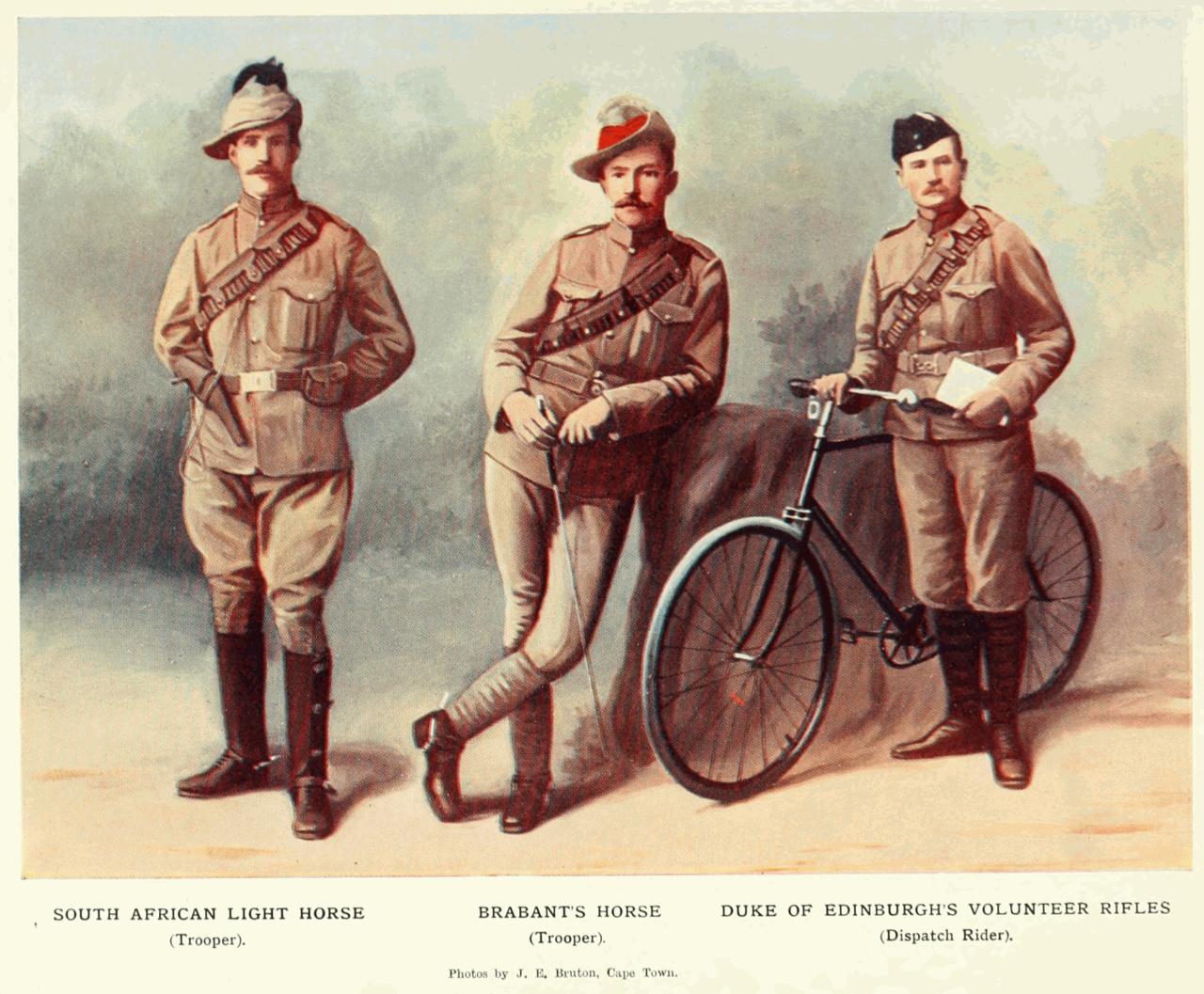 uniform af khaki engelske soldater