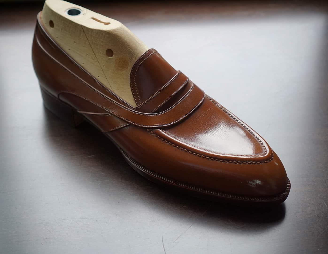 loafers håndsyede