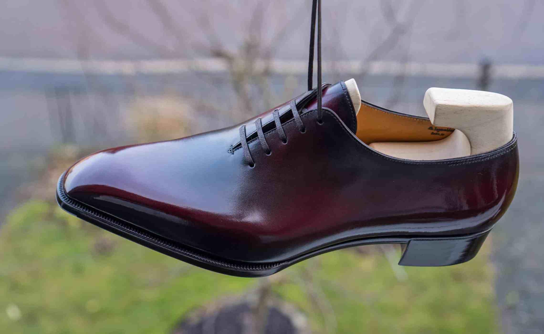 wholecut sko