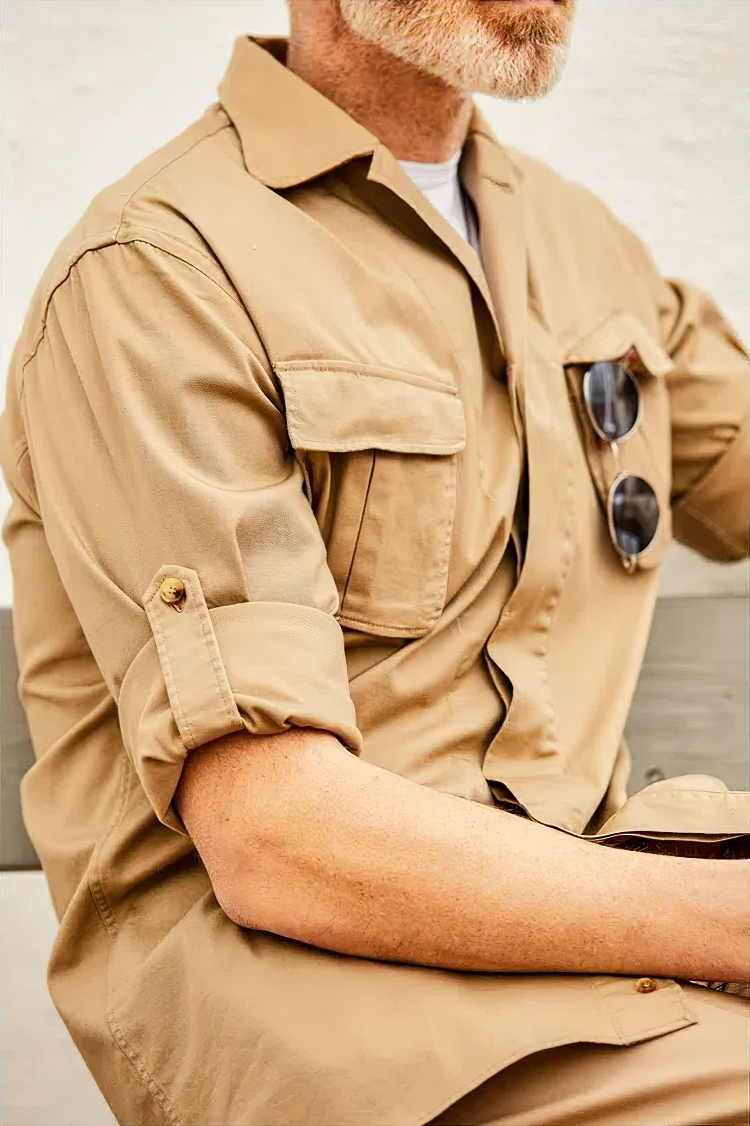 overskjorte garderobe mand