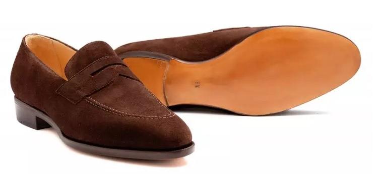 pæne loafers ruskind