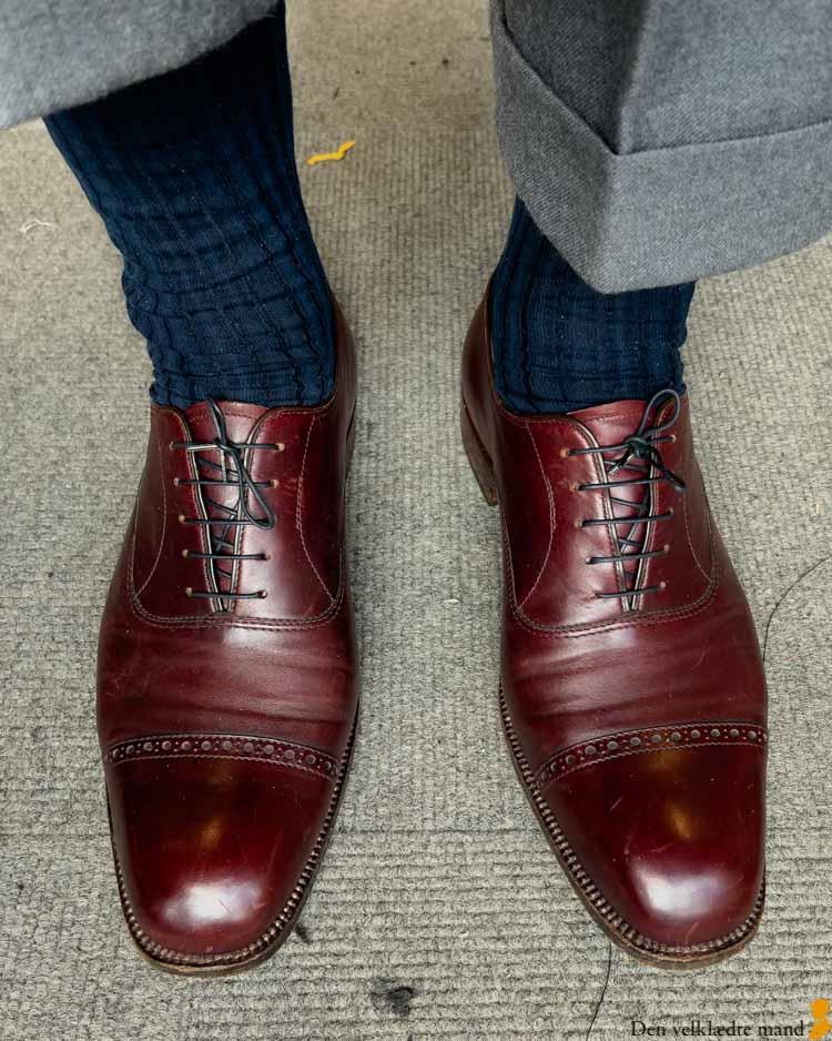 udblokke sko læder