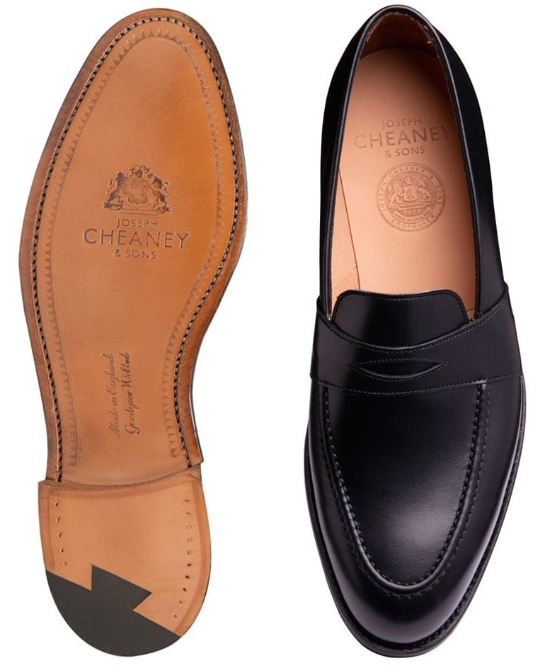 sorte penny loafers