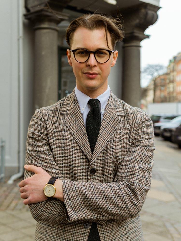Jeppe Bentzen med slips