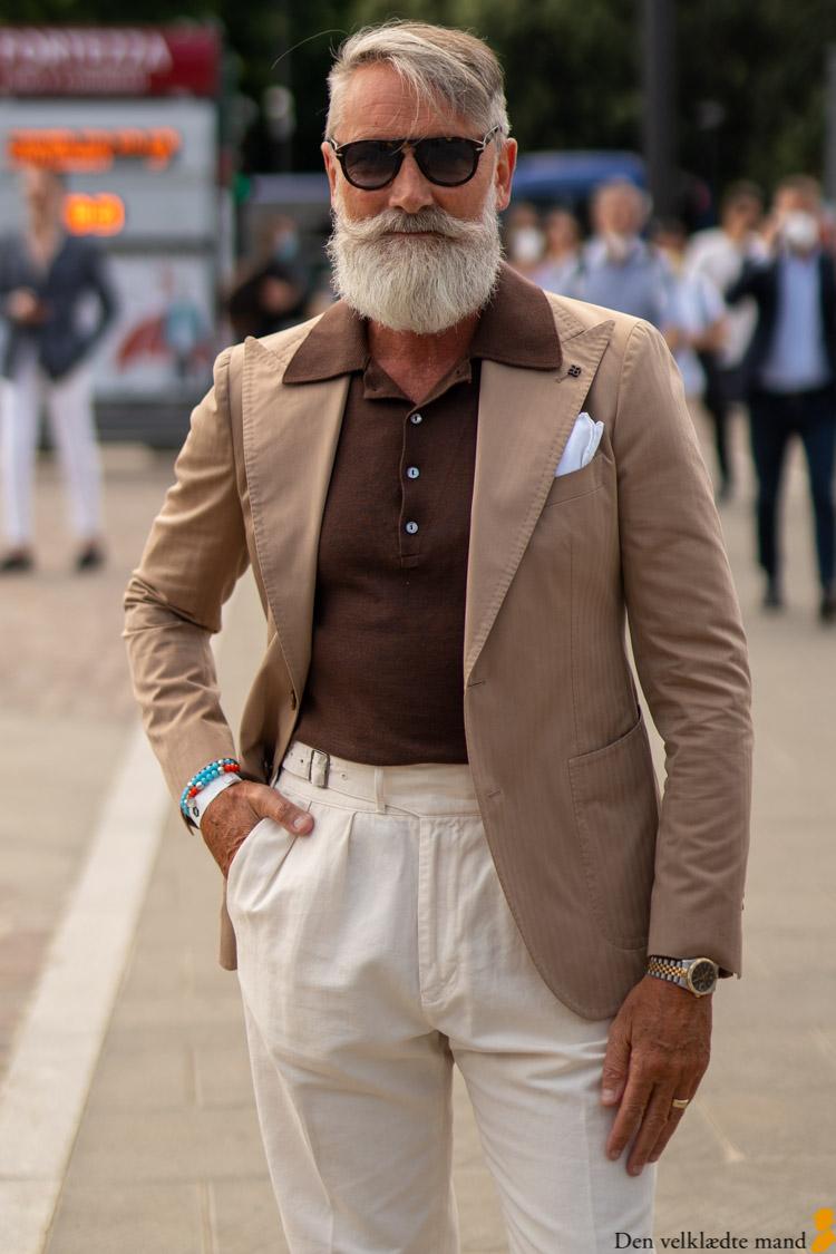 poloskjorte jakkesæt