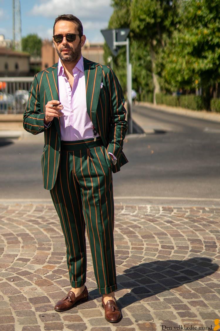 jakkesæt med striber