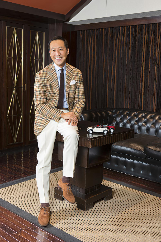 Yasuto Kamoshita stil herretøj