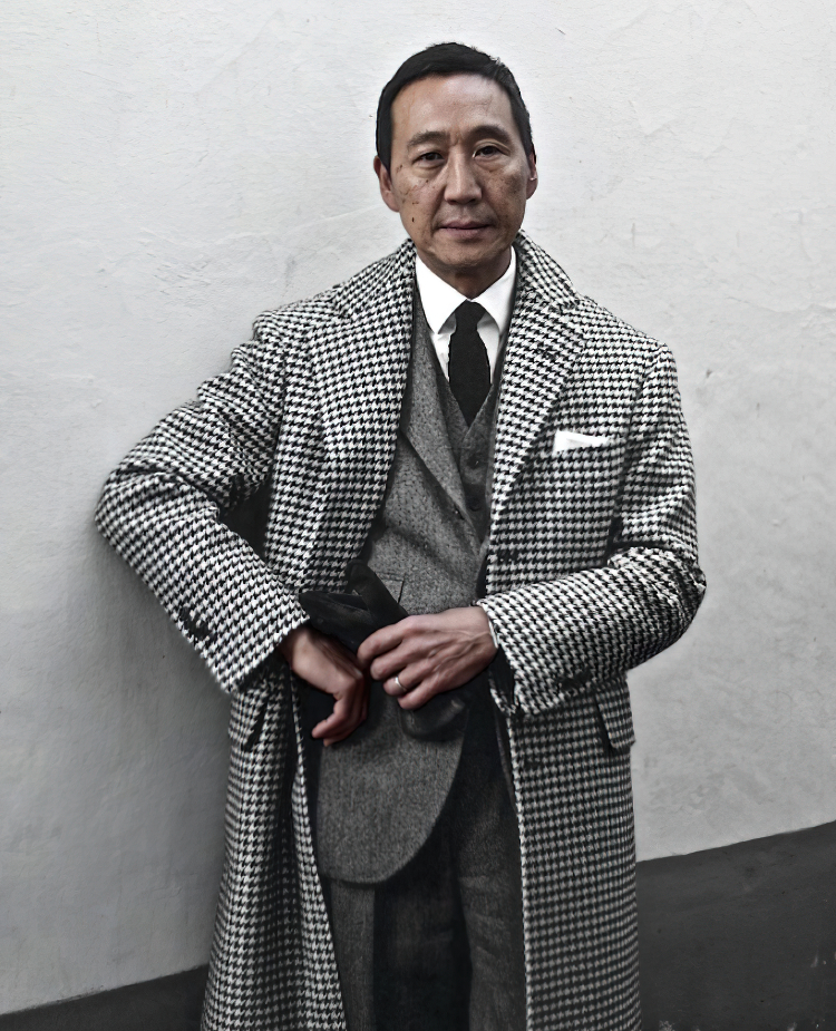 Yasuto Kamoshita tøjstil