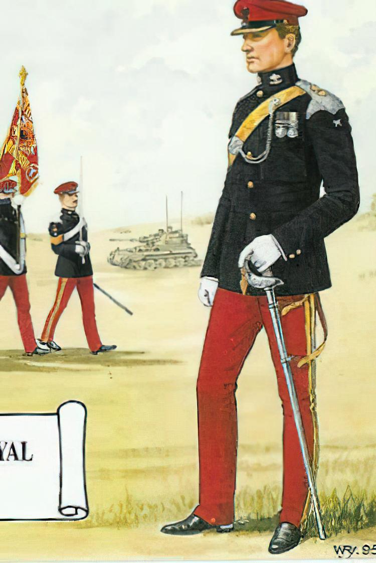 røde uniformsbukser
