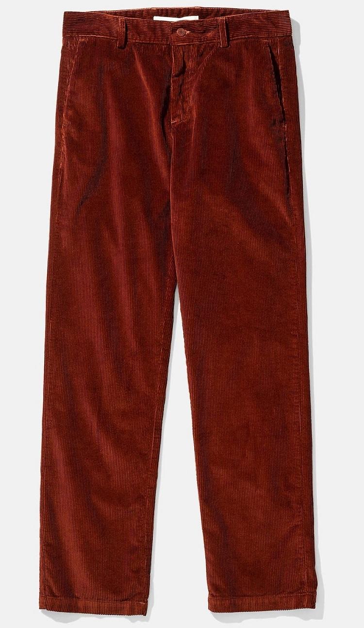 troelstrup røde fløjlsbukser til mænd