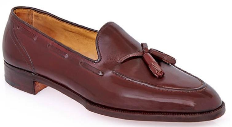 tassel loafers håndsyede