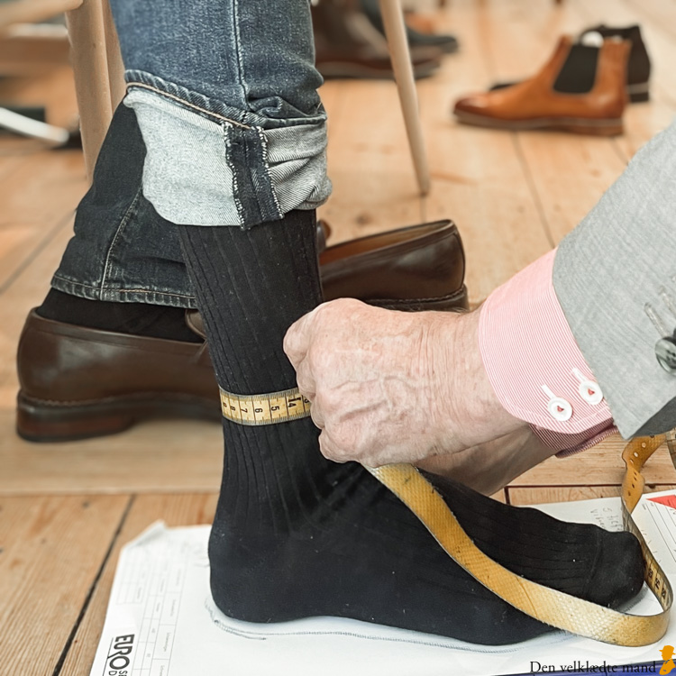opmåling håndsyede støvler